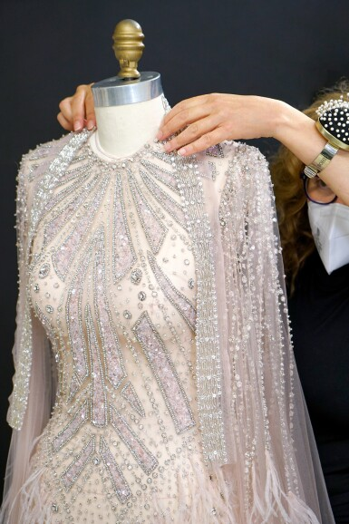 View 4. Thumbnail of Lot 58. A glimpse behind the scenes of the New York Atelier of Reem Acra..