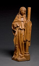 WORKSHOP OF ADRIAEN VAN WESEL (CIRCA 1415- CIRCA 1490), NETHERLANDISH, UTRECHT, CIRCA 1480 | ANGEL WITH THE COLUMN