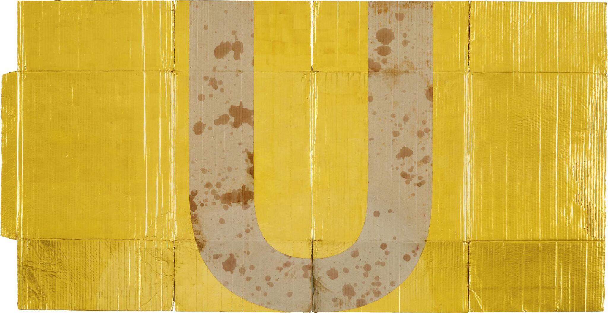 View full screen - View 1 of Lot 527. DANH VO 傅丹 | ALPHABET (U) 字母(U).