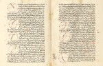 MAJMU'AT AL-MUTAWASSITAT, ('THE COMPENDIUM OF INTERMEDIATE BOOKS'), A RARE AND HIGHLY IMPORTANT COMPENDIUM OF TREATISES ON MATHEMATICS AND ASTRONOMY COMPILED BY NASIR AL-DIN AL-TUSI, COPIED IN BAGHDAD IN 682 AH/1283 AD, THE FINAL PART COMPLETED IN 706 AH/1306 AD