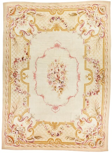 View 1. Thumbnail of Lot 199. AN AUBUSSON CARPET, LOUIS-PHILIPPE.