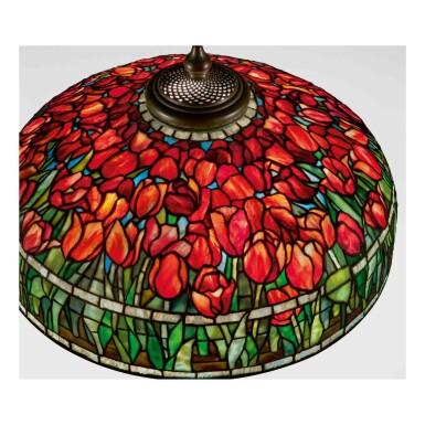 """View 2. Thumbnail of Lot 510. """"Tulip"""" Floor Lamp."""
