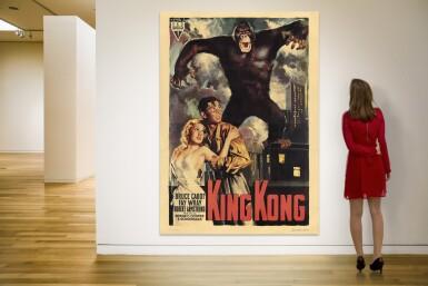 KING KONG (1933) POSTER, ITALIAN