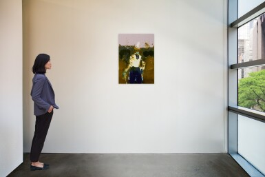 View 3. Thumbnail of Lot 3. GENIEVE FIGGIS | GENTLEMAN WITH A STICK.