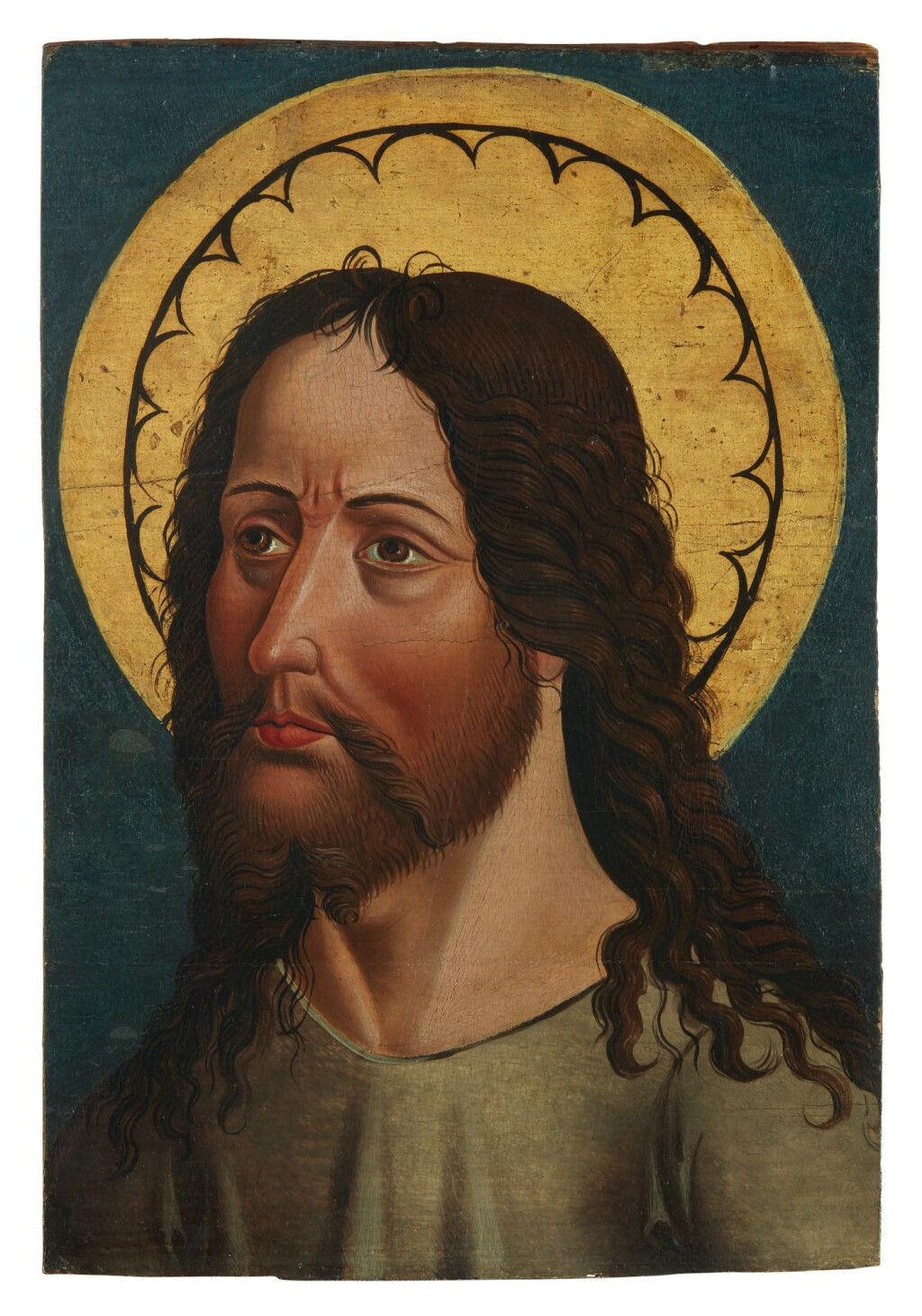 SWISS SCHOOL, CIRCA 1500   HEAD OF CHRIST