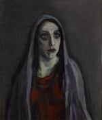 Portret van Charlotte Theresia Catharina Köhler (1892-1977) (Portrait of Charlotte Theresia Catharina Köhler (1892-1977))