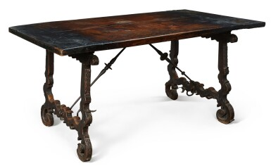 View 4. Thumbnail of Lot 139. A SPANISH WALNUT CENTRE TABLE, 17TH CENTURY.