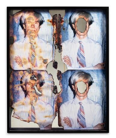 View 2. Thumbnail of Lot 144. Self portrait of You & Me (Warhol 4 part w/4 parts).