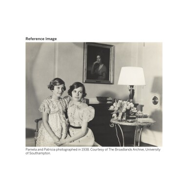 View 4. Thumbnail of Lot 82. Portrait of Lady Patricia, later Countess Mountbatten of Burma (1924-2017).