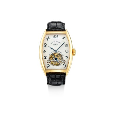 View 1. Thumbnail of Lot 1104. FRANCK MULLER | IMPERIAL TOURBILLON, REFERENCE 5850 T, A YELLOW GOLD TOURBILLON WRISTWATCH, CIRCA 2005.