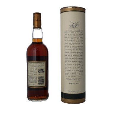 View 2. Thumbnail of Lot 25. The Macallan 15 Year Old 43.0 abv 1985 (1 BT75).