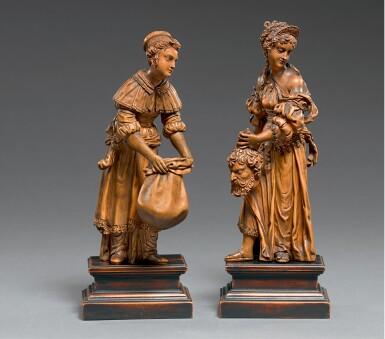 SOUTHERN NETHERLANDISH OR GERMAN, CIRCA 1600   JUDITH AND HER MAID