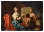 FRENCH SCHOOL, 18TH CENTURY | ALLEGORY OF DRAWING