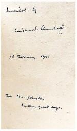Winston S. Churchill | The War Speeches. London: Cassell and Co., 1941-1946