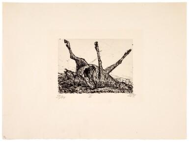 View 10. Thumbnail of Lot 19. Der Krieg (K. 70 - 119).