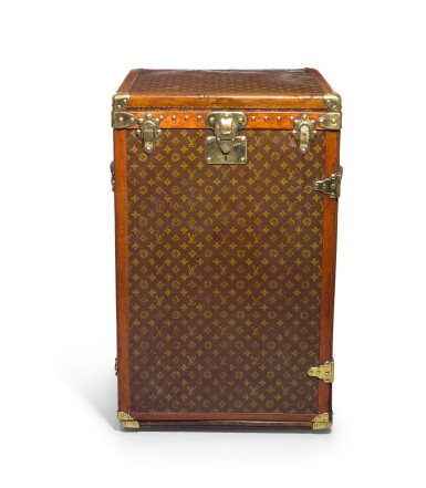 A Louis Vuitton Mobile Office Trunk Early 20th Century