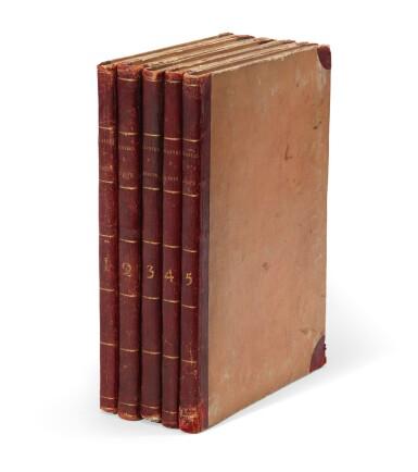 View 3. Thumbnail of Lot 9. Dreves and Hayne | Choix de plantes d'Europe, 1802, 5 volumes.