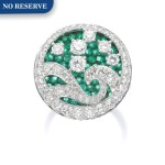 GRAFF | DIAMOND AND EMERALD RING