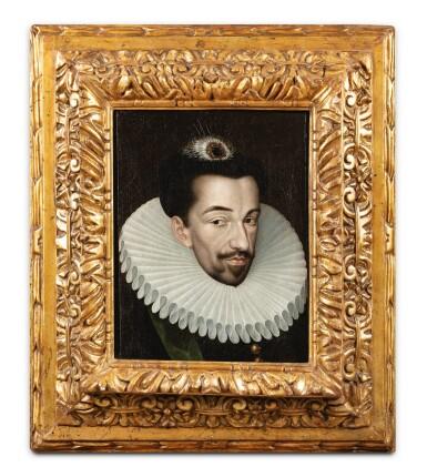 View 2. Thumbnail of Lot 10. Portrait of Henri III (1551-1589) .