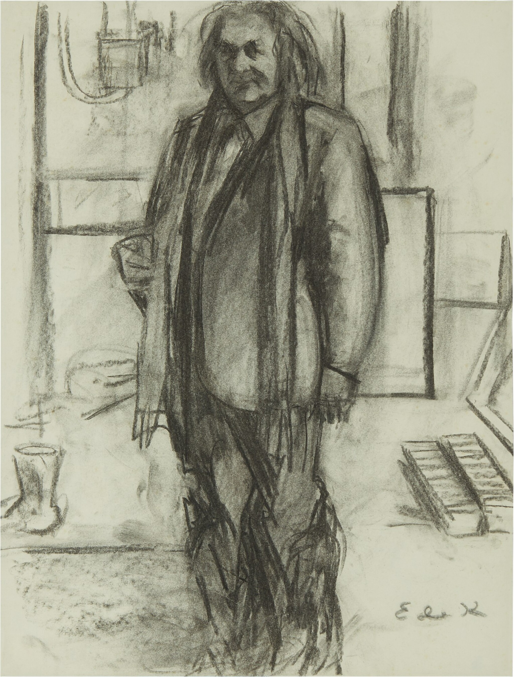 View full screen - View 1 of Lot 86. Portrait of Aristodemos Kaldis.