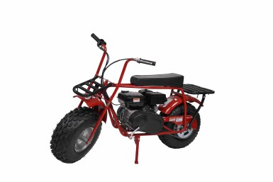 View 1. Thumbnail of Lot 9. SUPREME COLEMAN CT200U MINI BIKE.