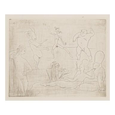 PABLO PICASSO   LA DANSE BARBARE (DEVANT SALOMÉ ET HÉRODE) (B. 15; BA. 18)
