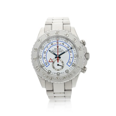 REFERENCE 116689M YACHT-MASTER II A WHITE GOLD AUTOMATIC FLYBACK CHRONOGRAPH WRISTWATCH WITH REGATTA COUNTDOWN AND BRACELET, CIRCA 2013