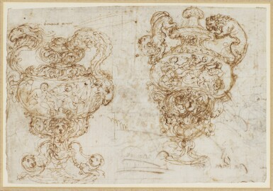 FLORENTINE SCHOOL, 17TH CENTURY | Two Designs for an urn