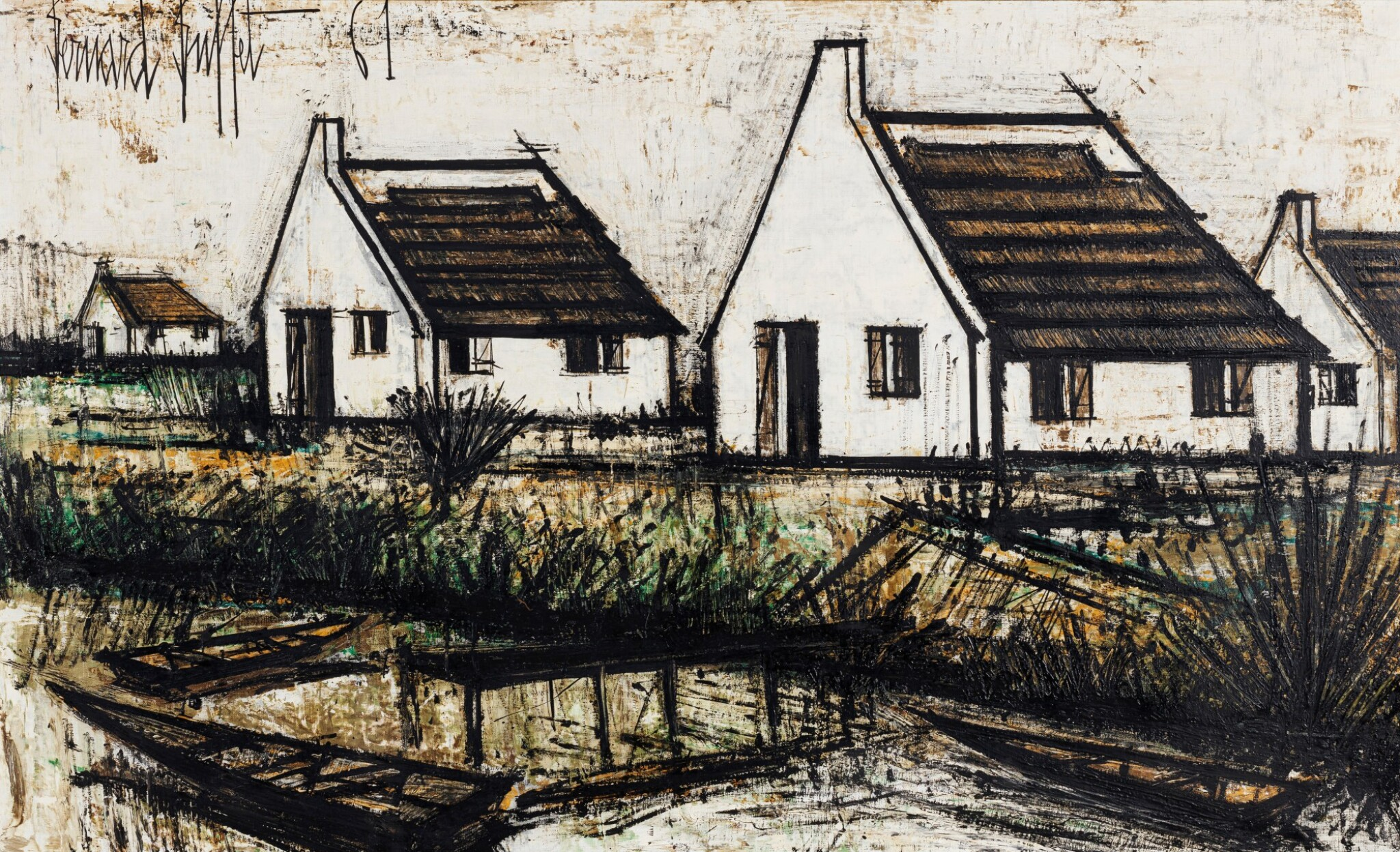 View full screen - View 1 of Lot 204. Maisons en Camargue.