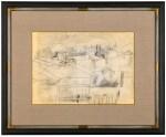 BEN NICHOLSON | FULL MOON, LUCCA, SEPT 1956