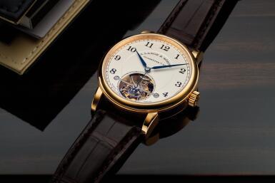 View 2. Thumbnail of Lot 296. Reference 730.032F 1815 Tourbillon   A pink gold tourbillon wristwatch with zero-reset mechanism, Circa 2016 .