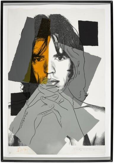 View 2. Thumbnail of Lot 85. Mick Jagger (F. & S. II.147).
