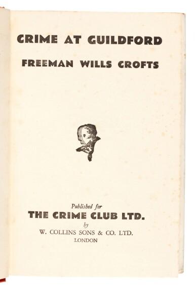 View 4. Thumbnail of Lot 81. Freeman Wills Crofts | Crime at Guildford, 1935.