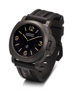 PANERAI | LUMINOR, REFERENCE PAM360 A LIMITED EDITION PVD-COATED STAINLESS STEEL WRISTWATCH, MADE FOR PANERISTI.COM 10TH ANNIVERSARY, CIRCA 2010