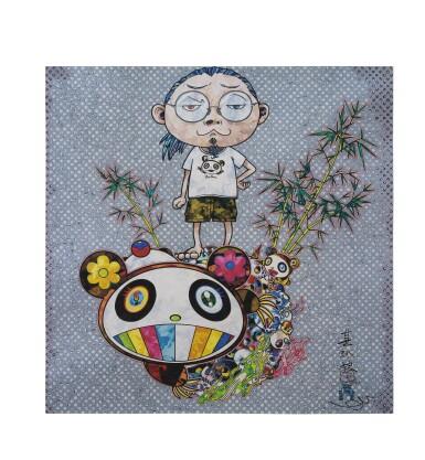 村上隆 MURAKAMI TAKASHI   我遇見熊貓家族 I MET A PANDA FAMILY