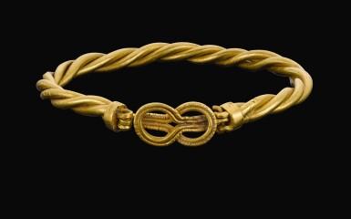 View 1. Thumbnail of Lot 74. A ROMAN GOLD BRACELET, CIRCA 2ND CENTURY A.D..