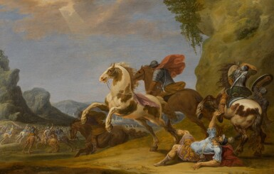 SIMON JOHANNES VAN DER DOUW | The Conversion of Saint Paul