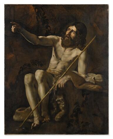 GIOVANNI BATTISTA CARACCIOLO, CALLED BATTISTELLO   SAINT JOHN THE BAPTIST IN THE WILDERNESS