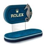 ROLEX | A VELVET RETAILER'S WINDOW DISPLAY, CIRCA 1970