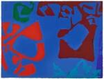 PATRICK HERON | SCARLET AND BORDEAUX IN COBALT : SEPTEMBER 16TH : 1975