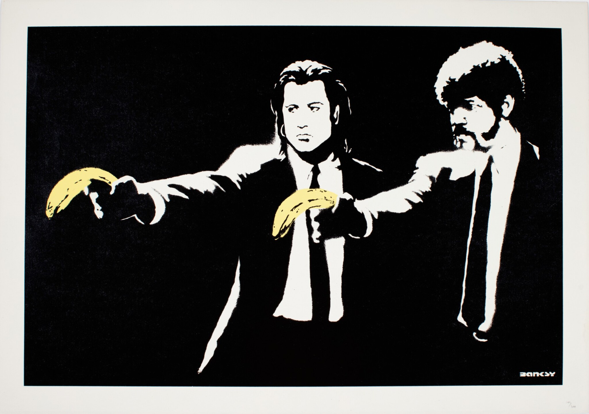 View 1 of Lot 1. BANKSY   PULP FICTION.
