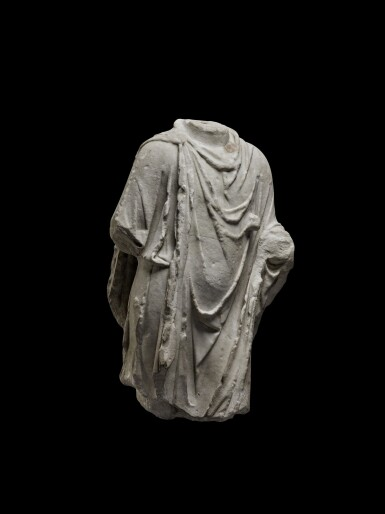 View 3. Thumbnail of Lot 77. A Roman Marble Torso of Hermanubis, circa 2nd Century A.D..