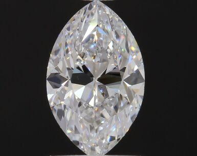 A 1.01 Carat Marquise-Shaped Diamond, D Color, SI1 Clarity