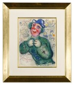 MARC CHAGALL | THE CIRCUS: ONE PLATE (M. 505; SEE C. BKS. 68)