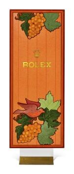 ROLEX | A RETAILER'S ENTRANCE STAND, CIRCA 1980