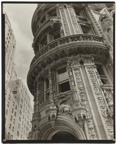 View 2. Thumbnail of Lot 61. 'Façade: Alwyn Court, 174-182 West 58th Street and 911-917 Seventh Avenue, Manhattan'.
