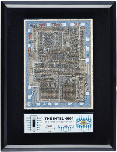 View 7. Thumbnail of Lot 43. A COLLECTION OF FRAMED MICROCHIPS.