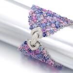 MICHELE DELLA VALLE | GEM SET AND DIAMOND BRACELET