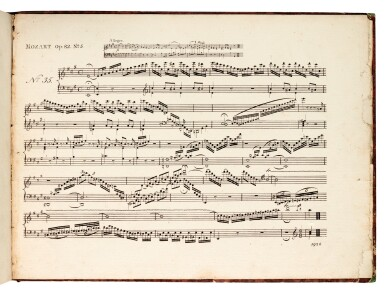 View 3. Thumbnail of Lot 60. W.A. Mozart, Two volumes of first and early editions of the piano concertos etc., C18th and early C19th.