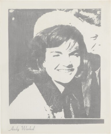 View 1. Thumbnail of Lot 24. ANDY WARHOL | JACQUELINE KENNEDY I (JACKIE I) (F. & S. II.13).